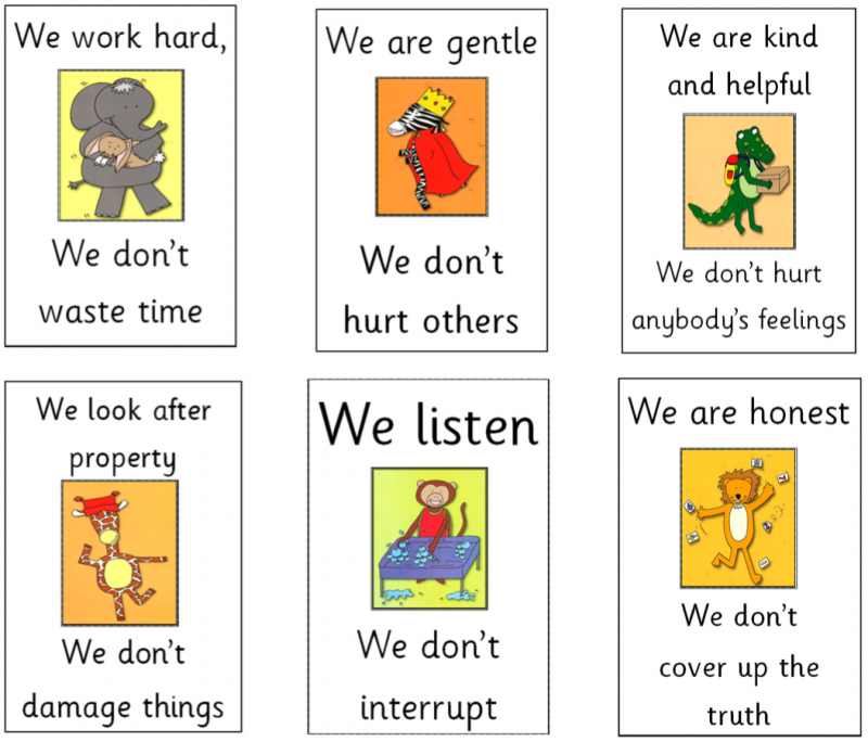 Golden Rules Langstone Infant Academy
